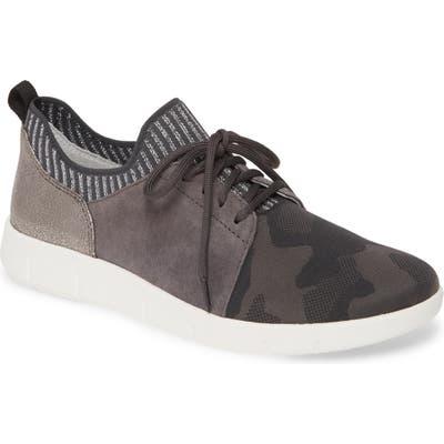 Johnston & Murphy Tamara Low Top Sneaker- Grey