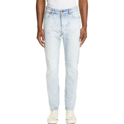 Ksubi Chitch Washed Out Skinny Fit Jeans, Blue