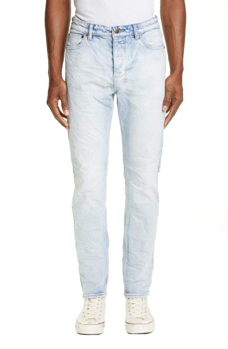 KSUBI Chitch Washed Out Skinny Fit Jeans, Main, color, 460