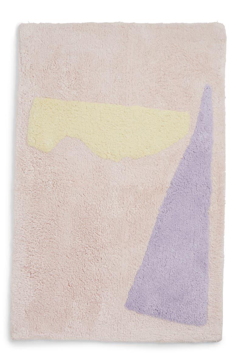 COLD PICNIC Taro Bathmat, Main, color, 500