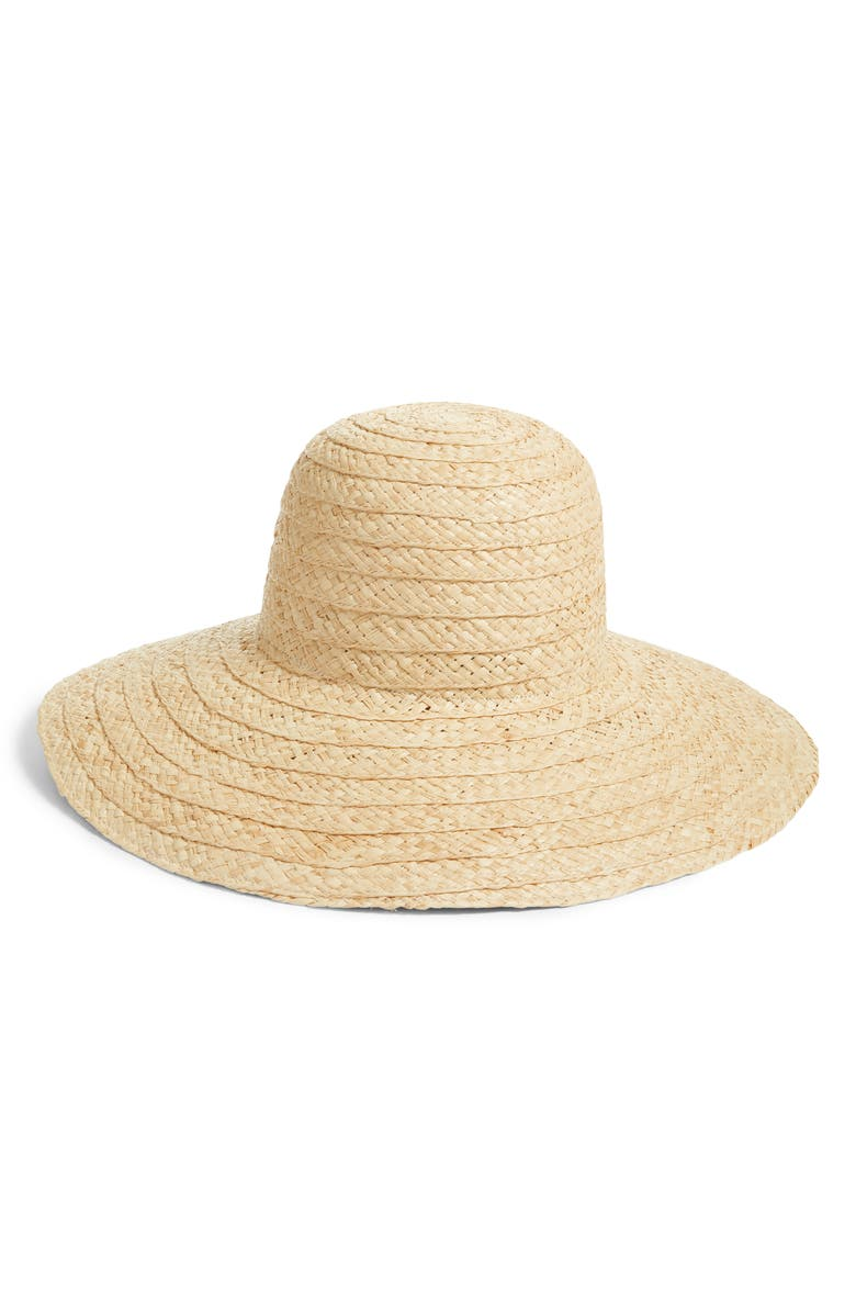 KATE SPADE NEW YORK straw hat, Main, color, 532