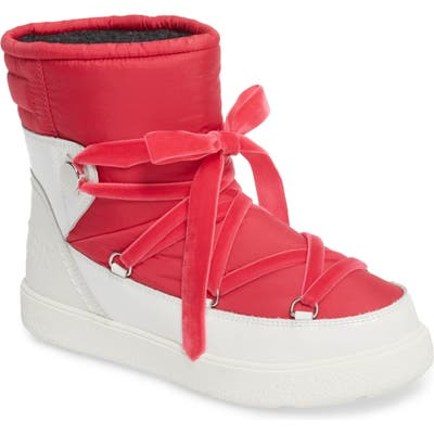 Moncler Stephanie Snow Boot, Pink
