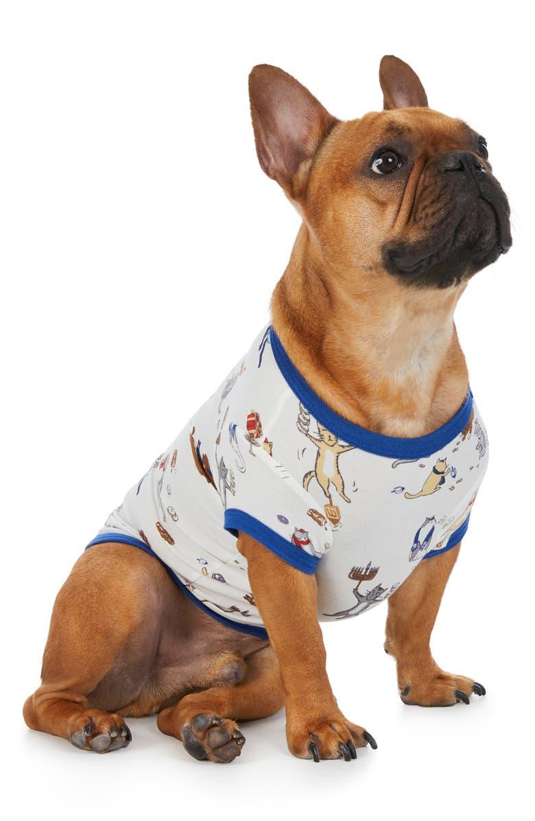 BEDHEAD PAJAMAS Print Dog Nightshirt, Main, color, MEOWZEL TOV