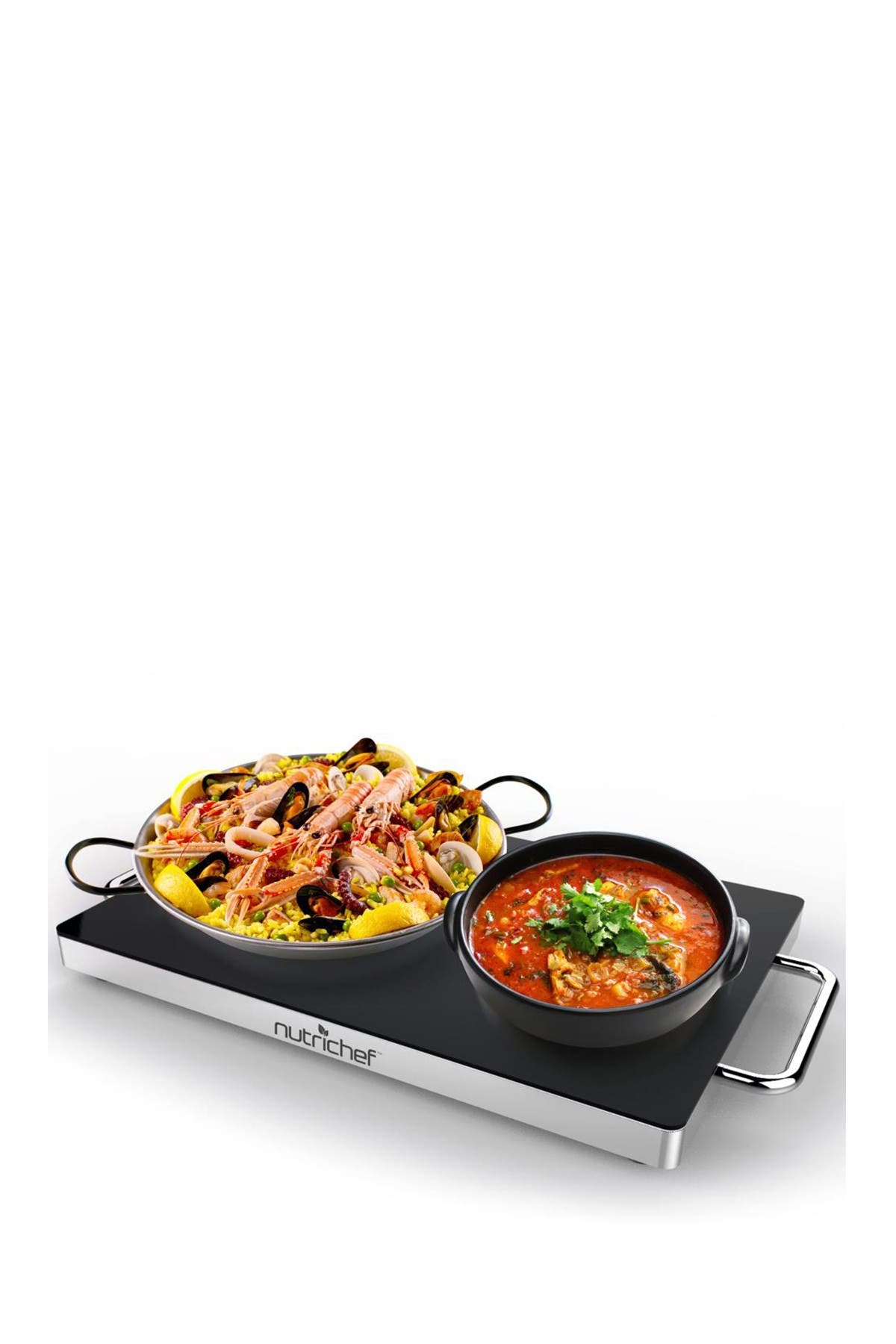 Image of NutriChef Electric Warming Tray & Food Warmer