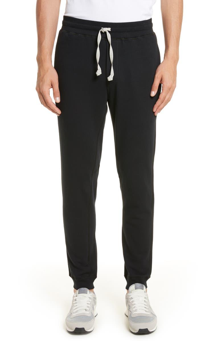 WINGS + HORNS Sweatpants, Main, color, BLACK