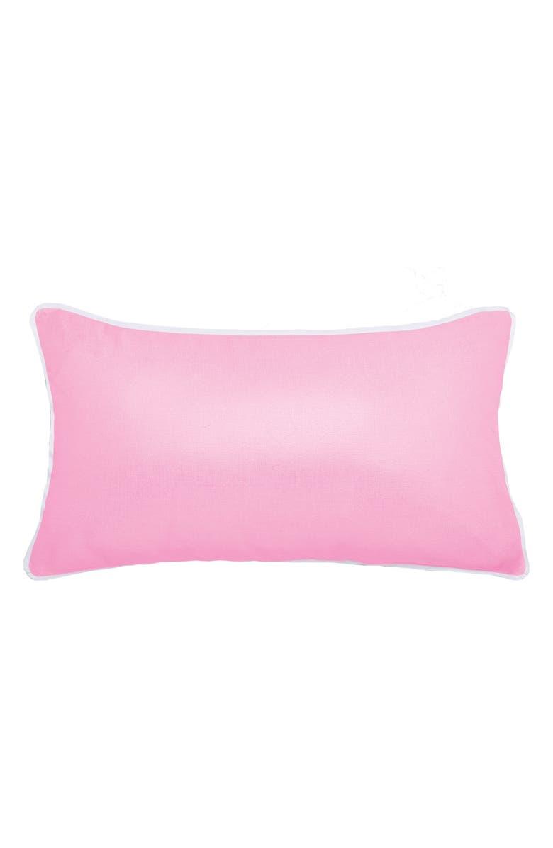 TED BAKER LONDON Metallic Pillow, Main, color, 650