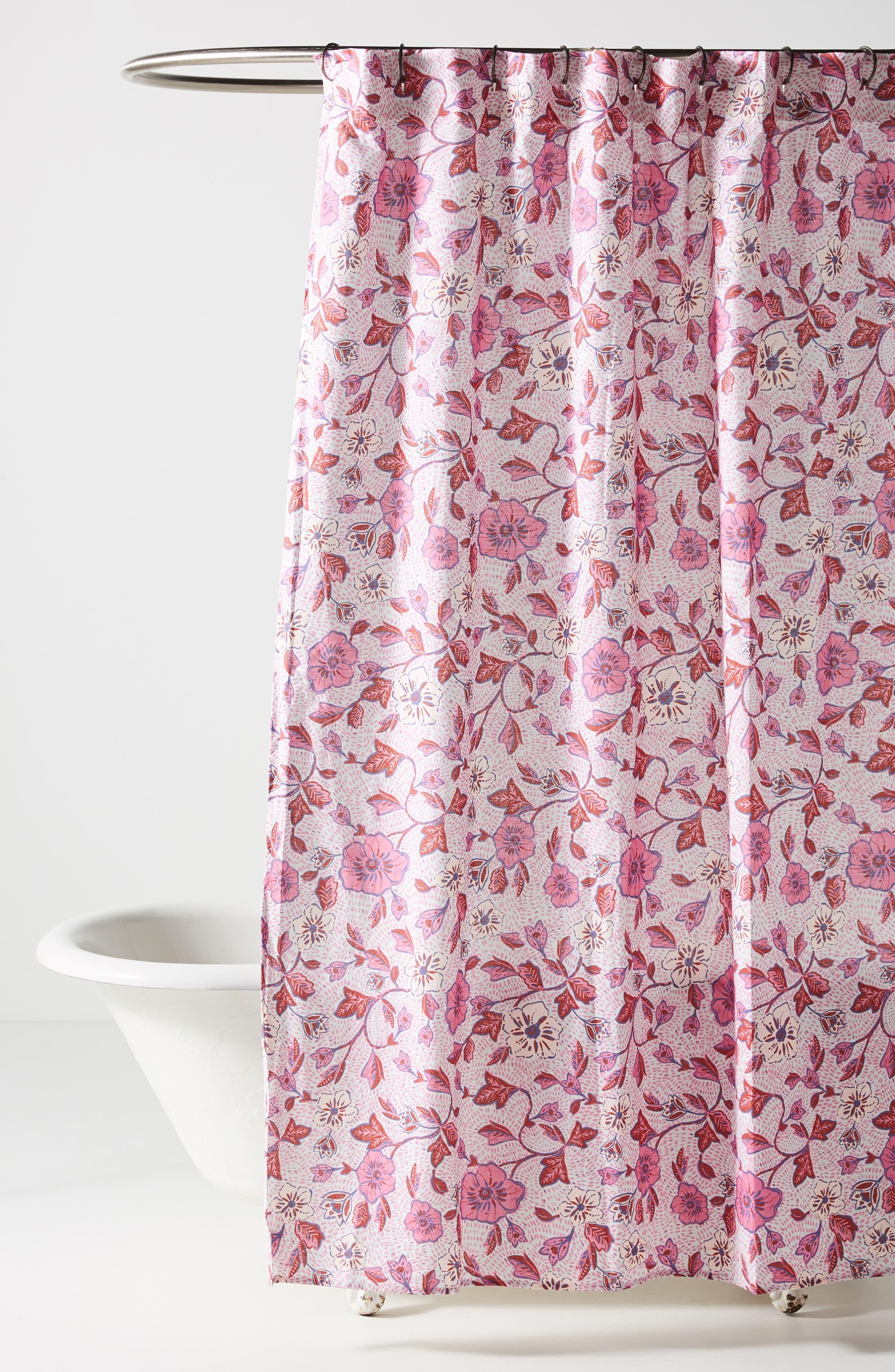 anthropologie zola shower curtain