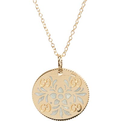 Gucci Icon Blooms Pendant Necklace