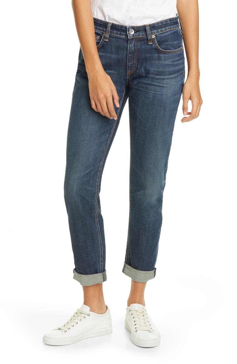 RAG & BONE Dre Slim Boyfriend Jeans, Main, color, 430