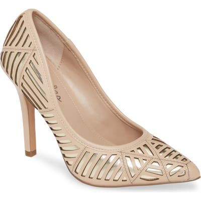 Charles By Charles David Mystery Pump- Beige