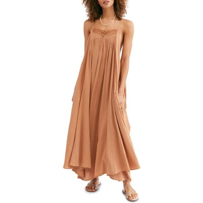 Endless Summer By Free People Mancora Maxi Dress, Brown