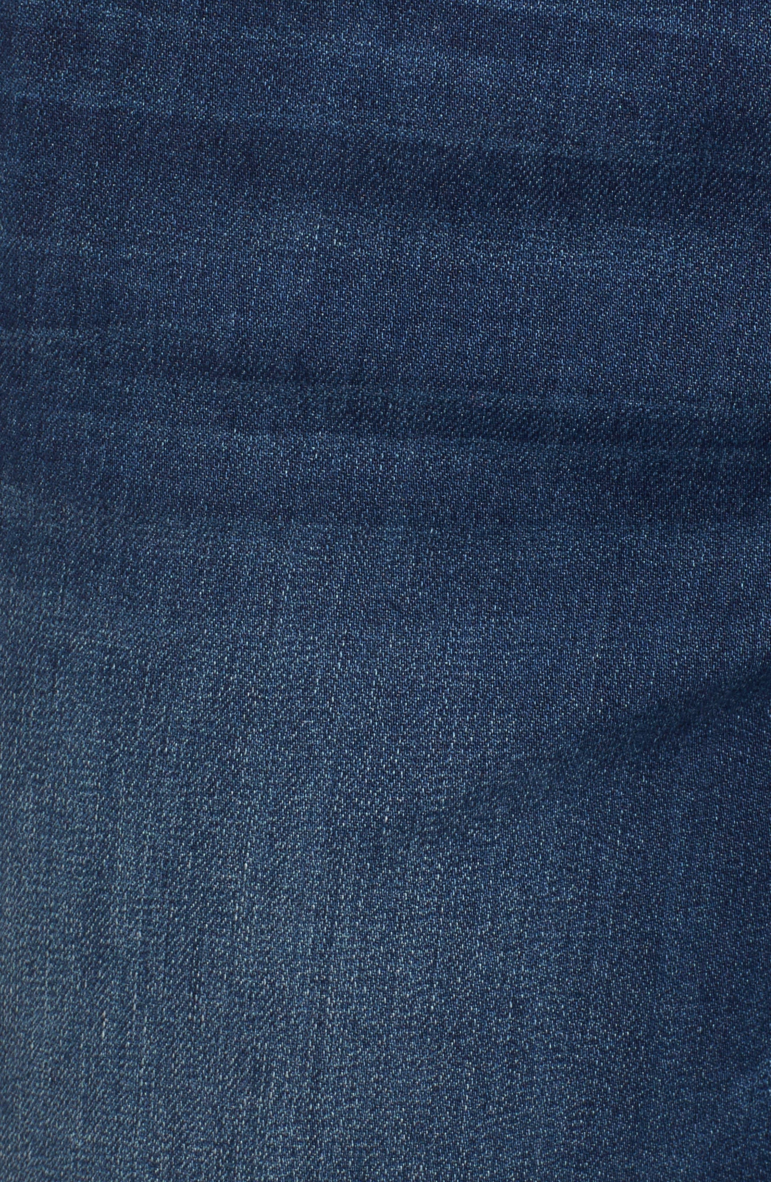 ,                             Ab-solution Cuffed Denim Shorts,                             Alternate thumbnail 6, color,                             BLUE
