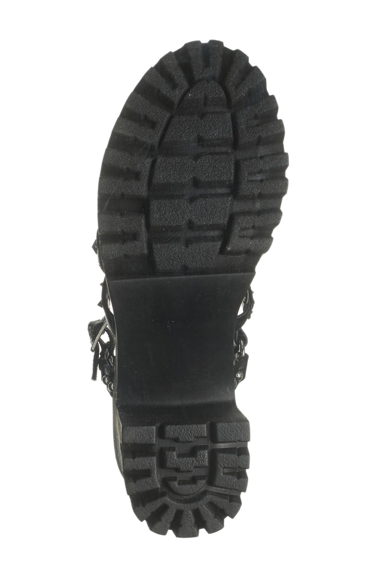 Image of Madden Girl Sassy Studded Platform Heeled Sandal