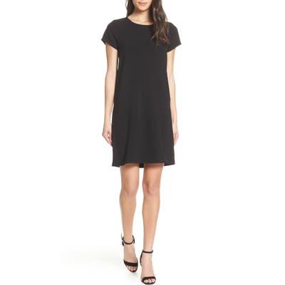 Chelsea28 Crepe Shift Dress, Black