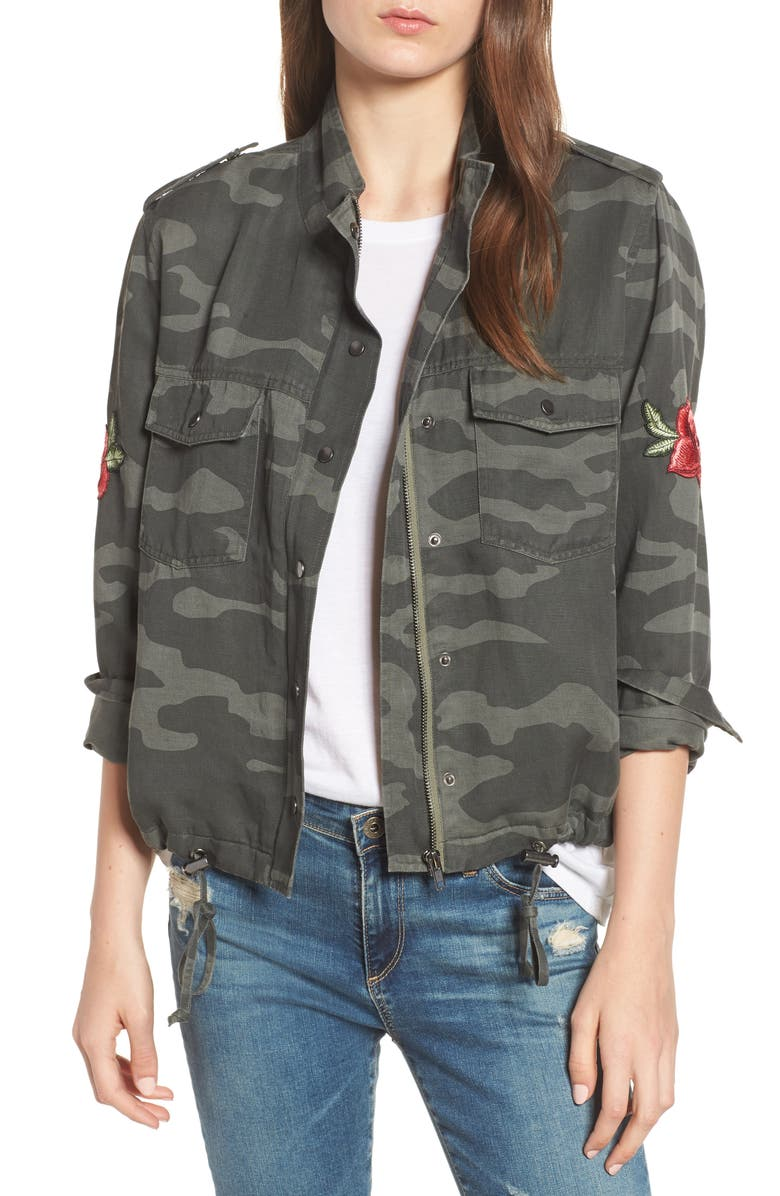 RAILS Collins Military Jacket, Main, color, 346