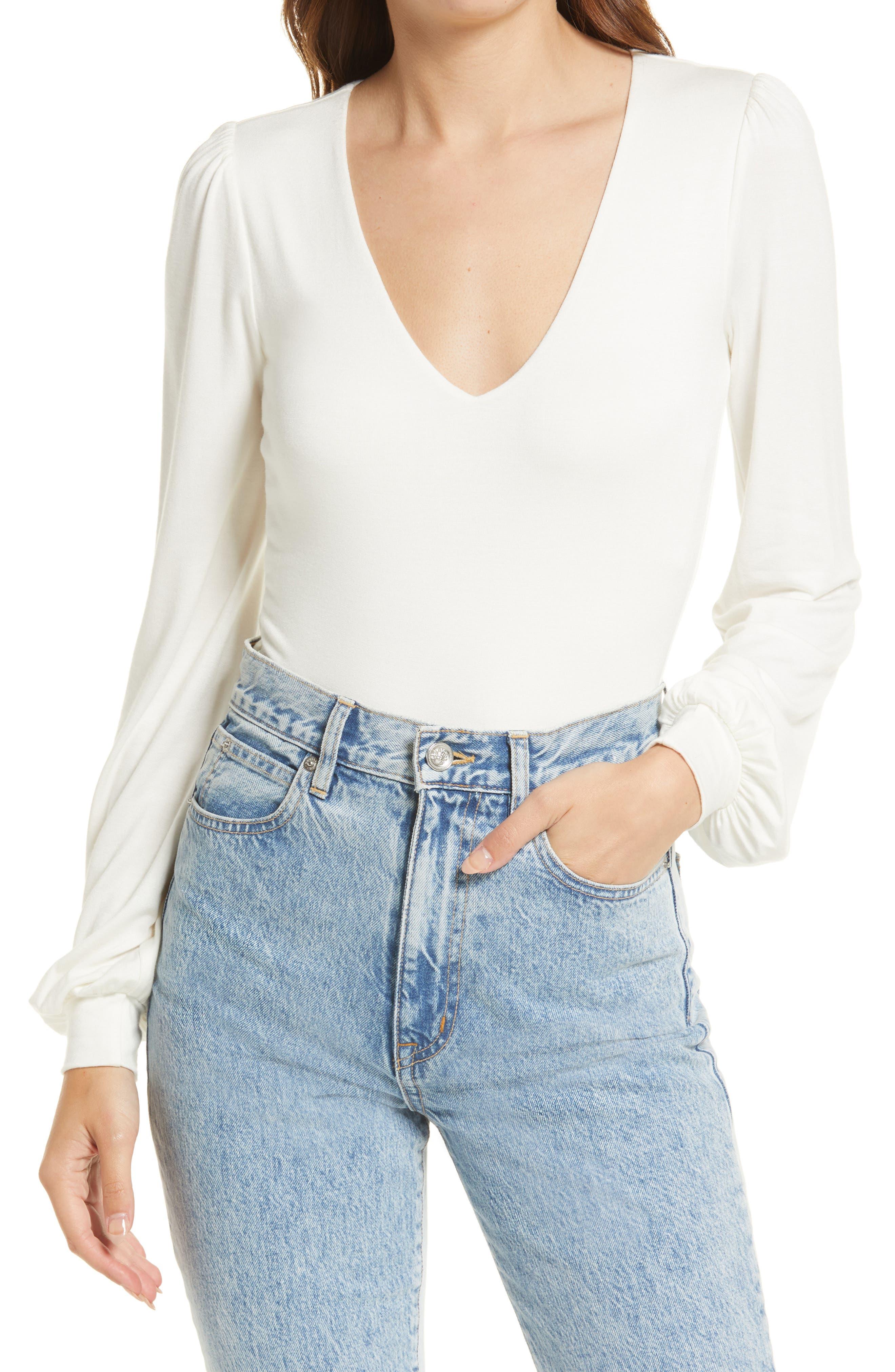 Kaylene Long Sleeve Bodysuit