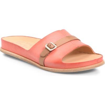Kork-Ease Downey Slide Sandal, Orange