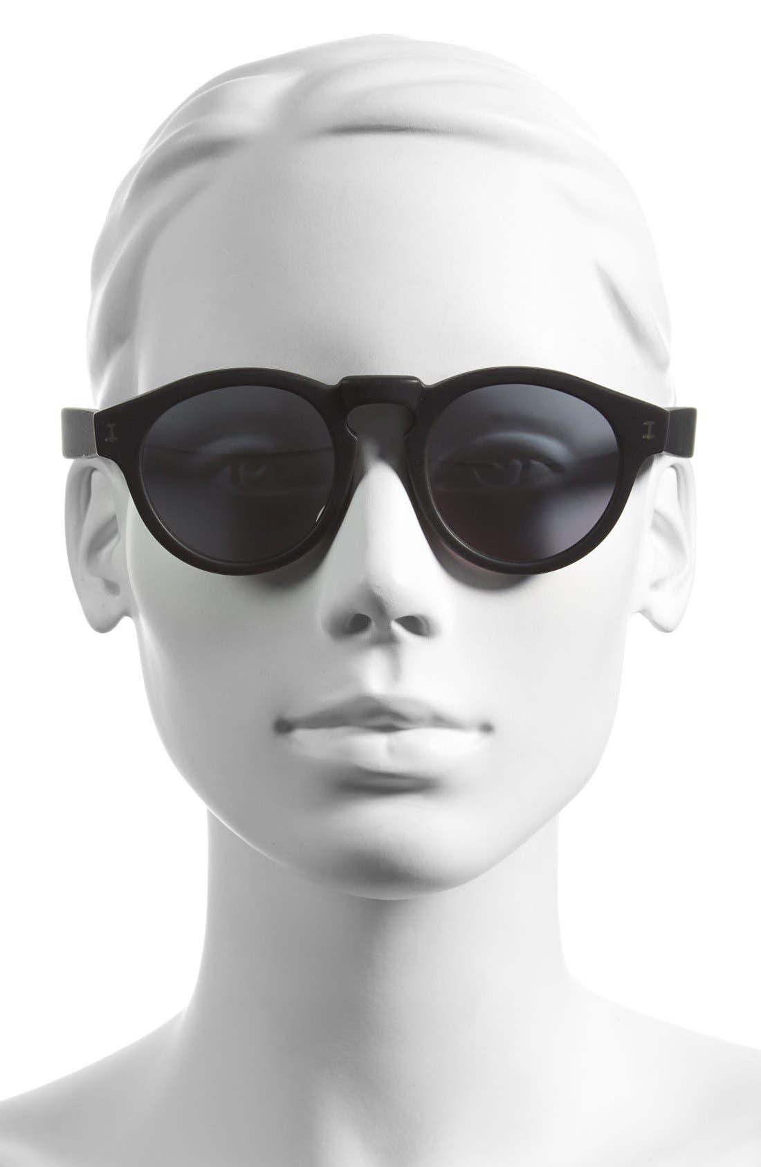 ,                             'Leonard' 47mm Sunglasses,                             Alternate thumbnail 4, color,                             002