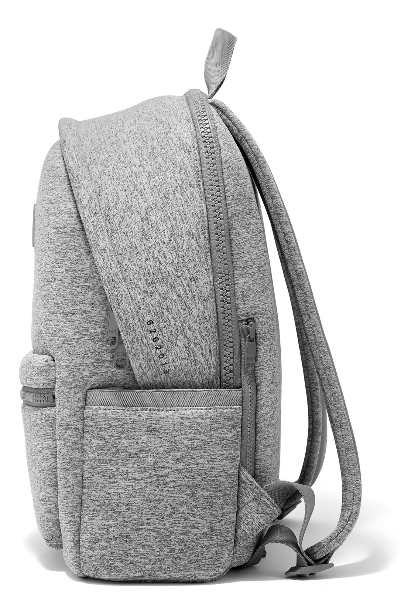 ,                             Large Dakota Neoprene Backpack,                             Alternate thumbnail 4, color,                             HEATHER GREY