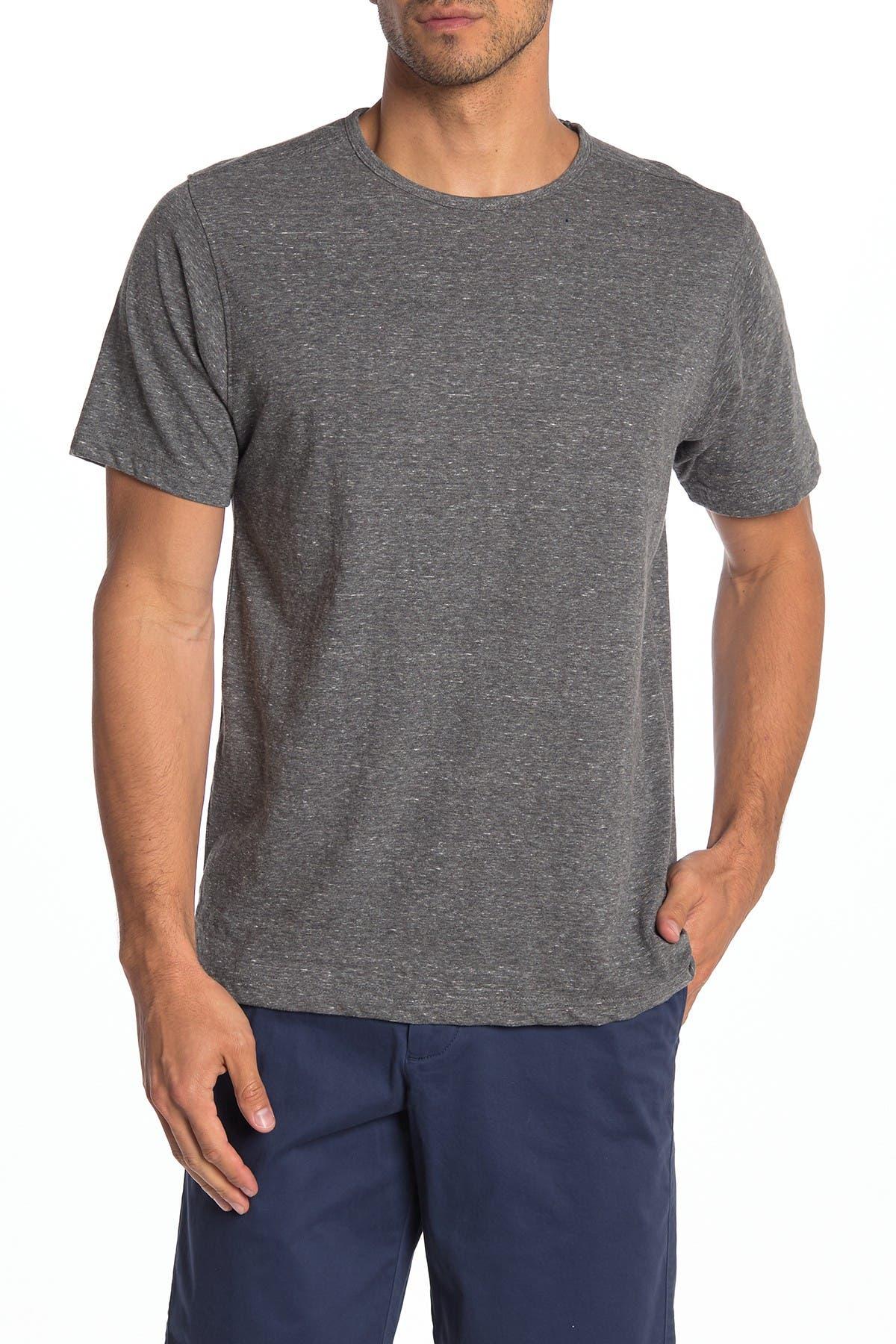 Image of COASTAORO Sieta Knit Short Sleeve Crew Neck T-Shirt