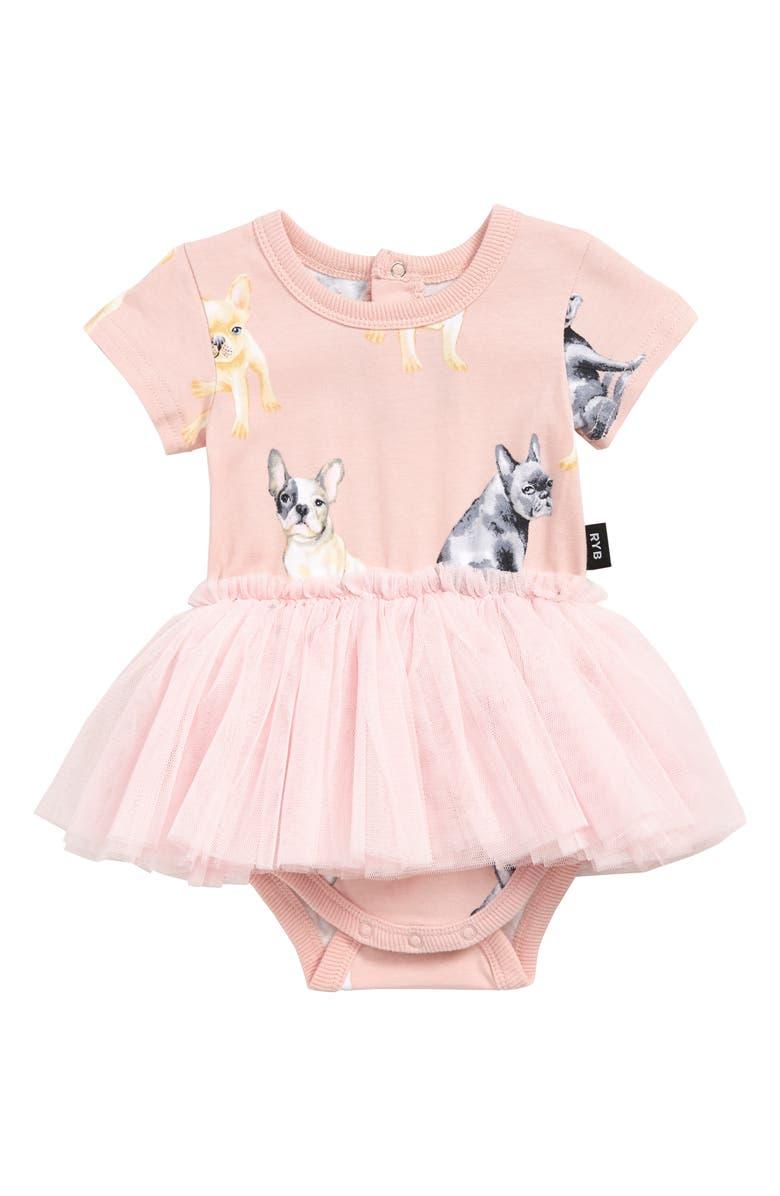 3741c62e6dc Rock Your Baby Clovis Circus Tank Bodysuit Dress (Baby)   Nordstrom