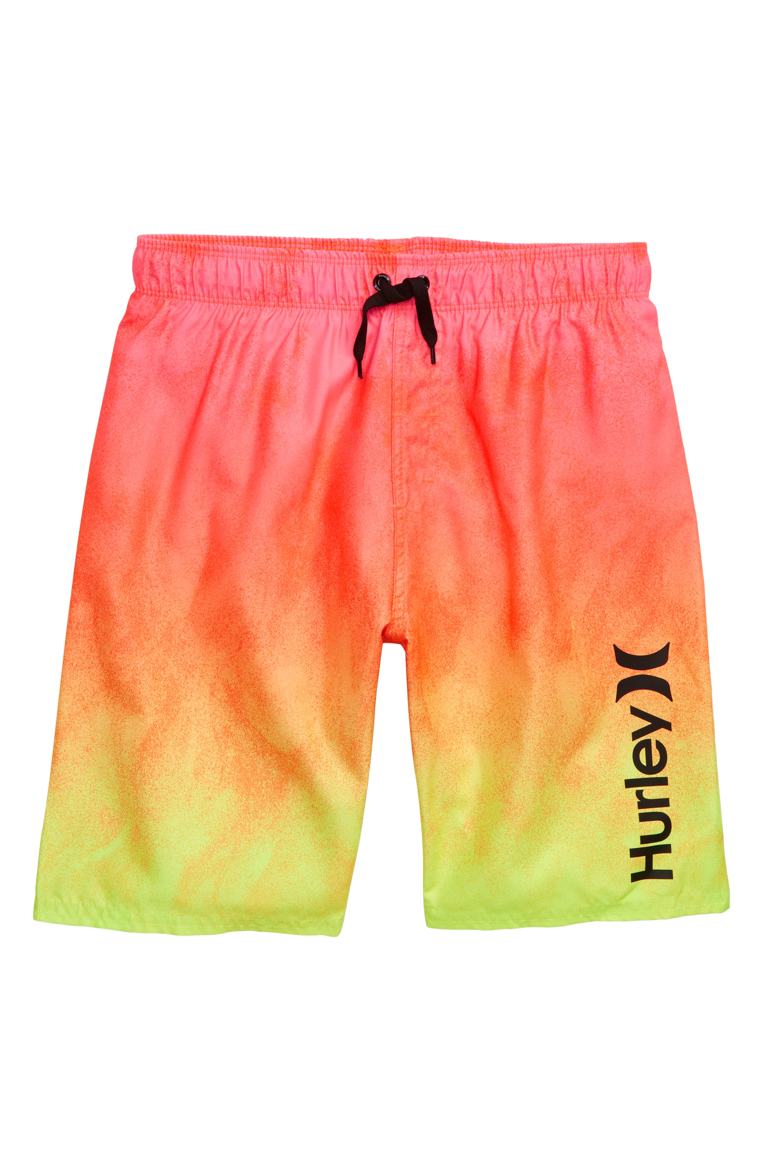 Boys Hurley Gradient Swim Trunks Size 2T  Pink