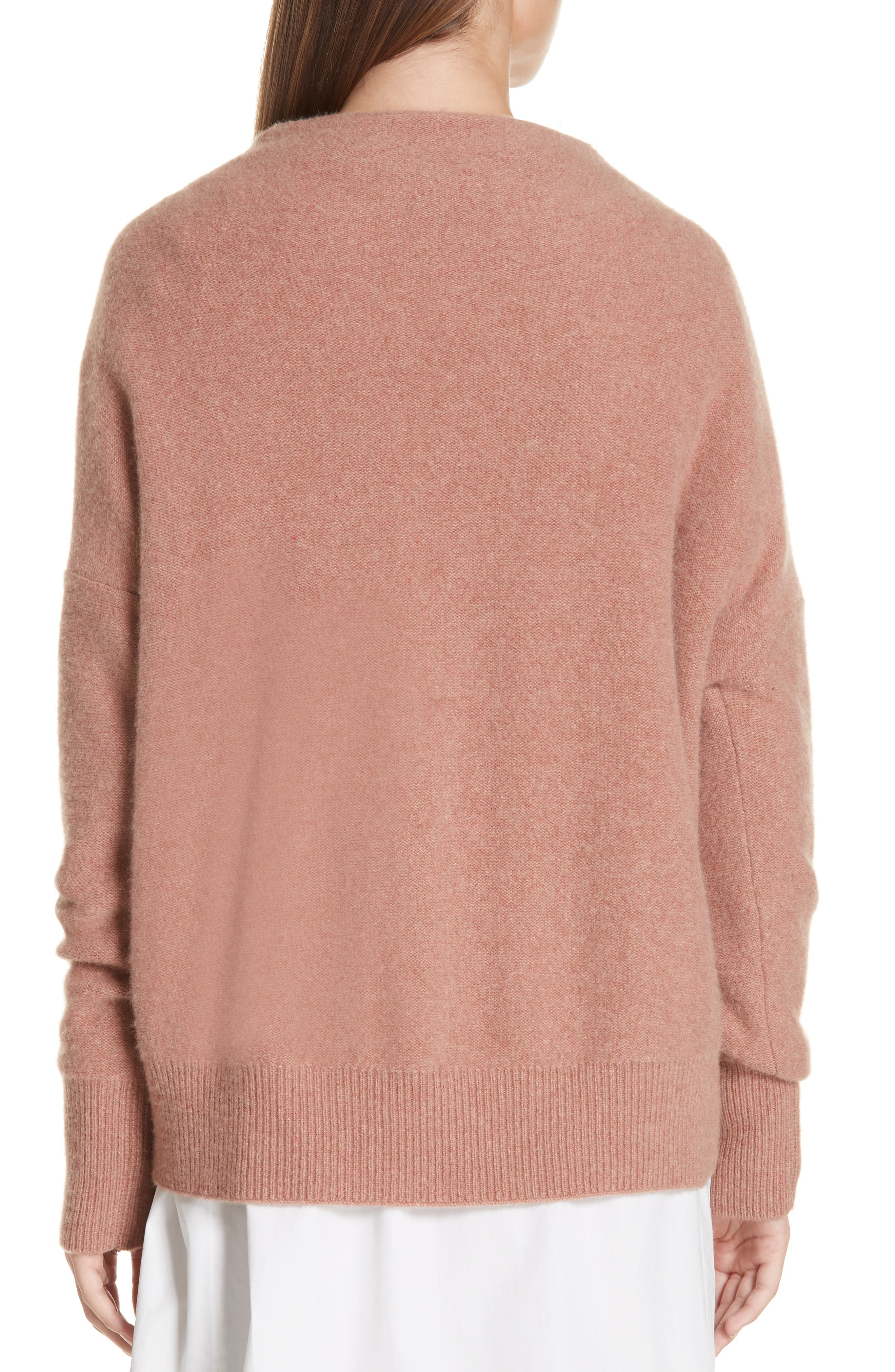 ,                             Funnel Neck Cashmere Sweater,                             Alternate thumbnail 16, color,                             690