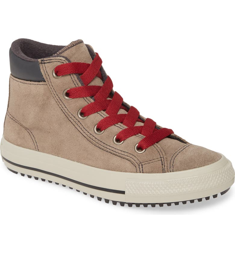 CONVERSE Chuck Taylor<sup>®</sup> All Star<sup>®</sup> High Top Sneaker, Main, color, MASON TAUPE/ BACK ALLEY BRICK