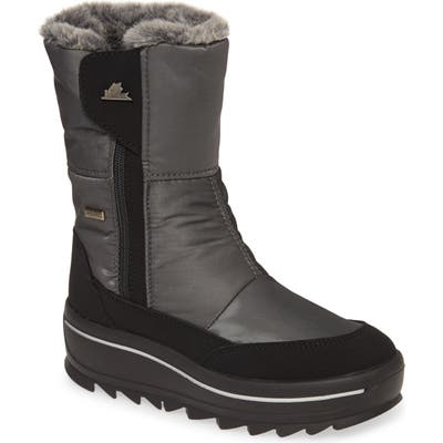 Pajar Tanni 2.0 Waterproof Boot With Faux Fur Lining, Grey