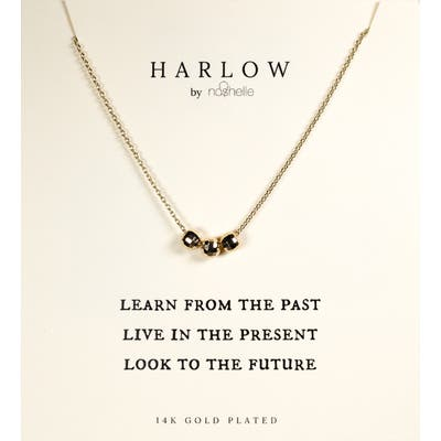 Harlow By Nashelle Past, Present & Future Boxed Necklace