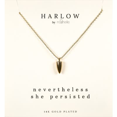 Harlow By Nashelle Dagger Boxed Necklace