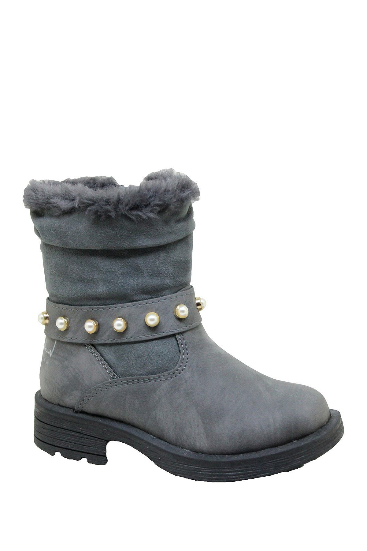 Image of Nicole Miller Studded Scrunch Boot