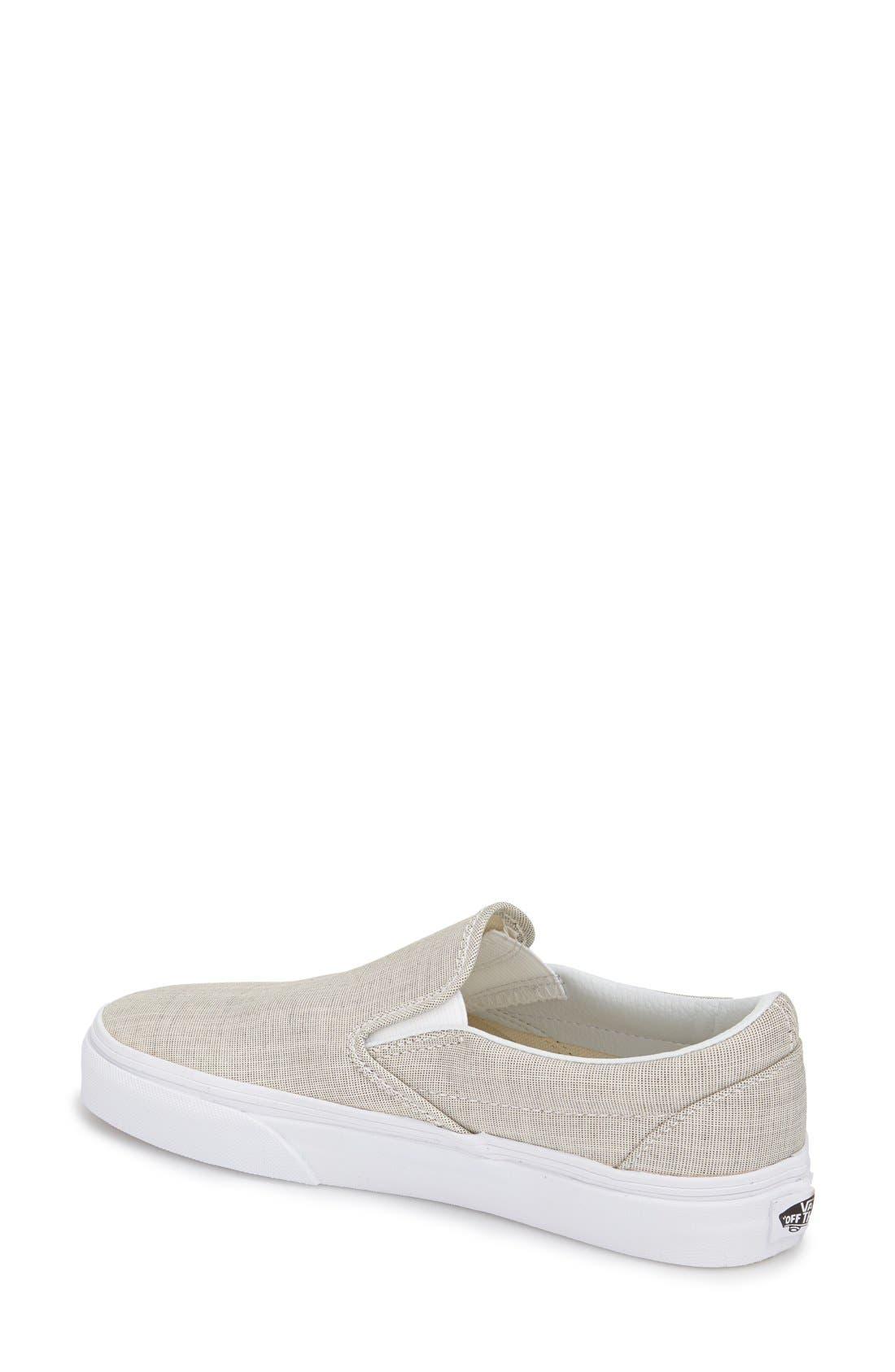 ,                             Classic Slip-On Sneaker,                             Alternate thumbnail 258, color,                             021