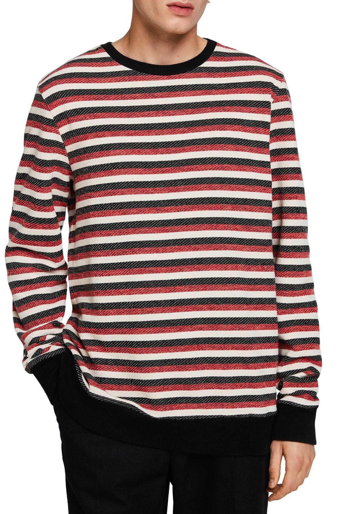 Image of Scotch & Soda Space Dye Crew Neck Pullover