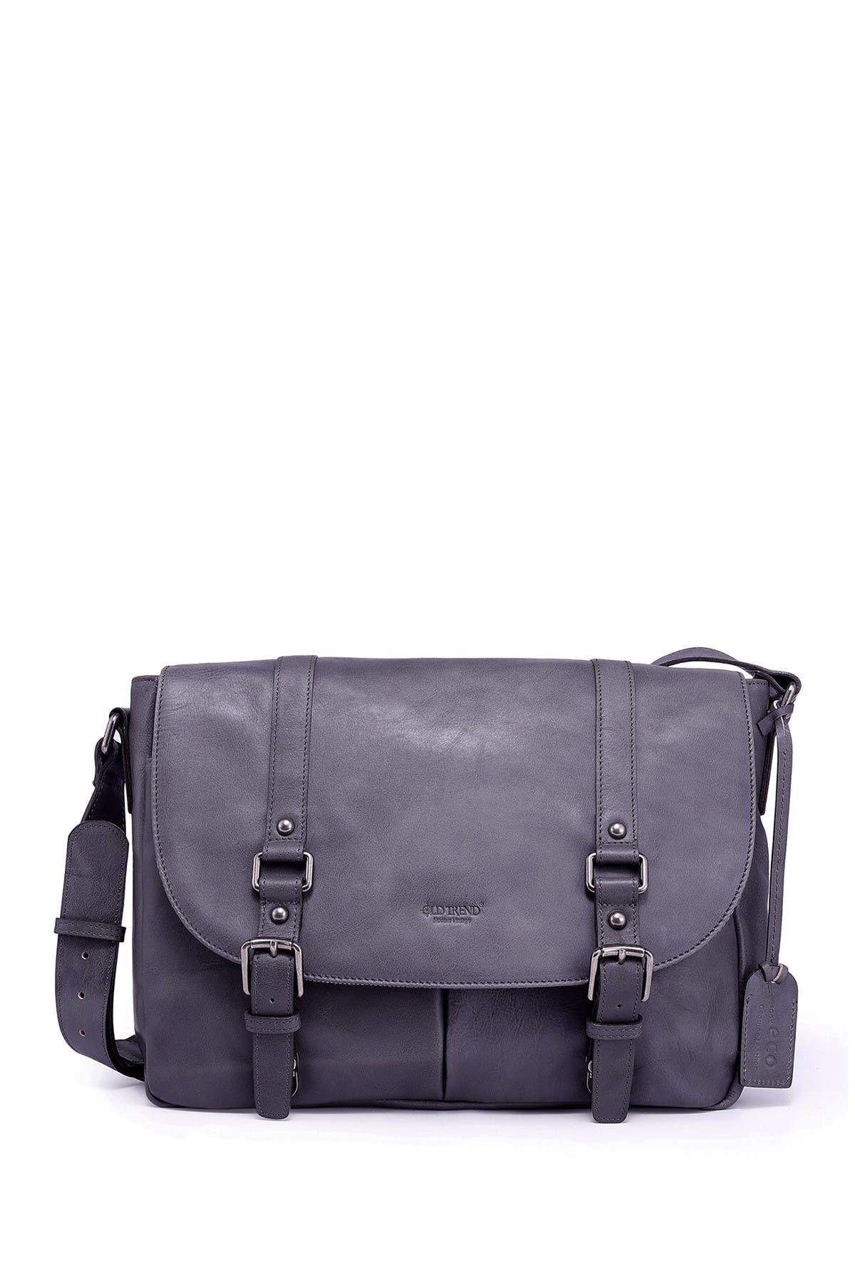 Image of Old Trend Moonlight Messenger Leather Shoulder Bag