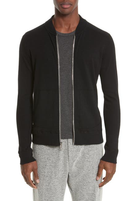 Image of WINGS AND HORNS Zip Bomber Jacket