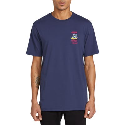 Volcom Save Our Oceans Hawaii Graphic T-Shirt, Blue