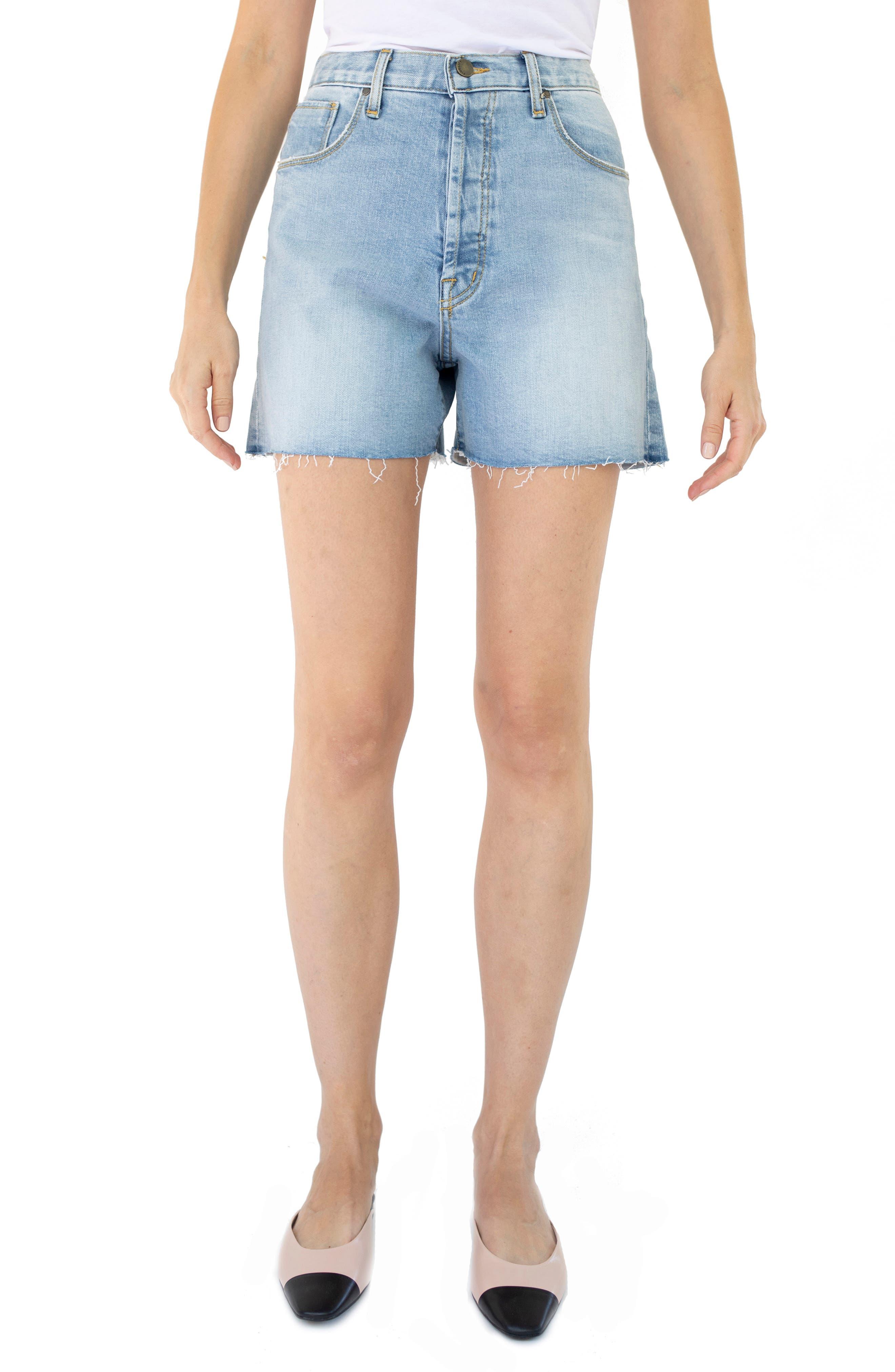 Harley High Waist Cutoff Denim Shorts