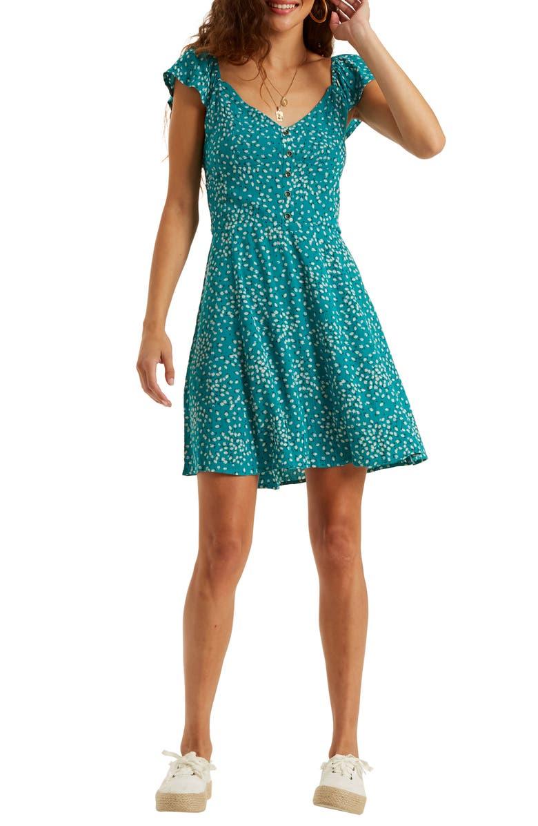 BILLABONG Forever Yours Minidress, Main, color, 440