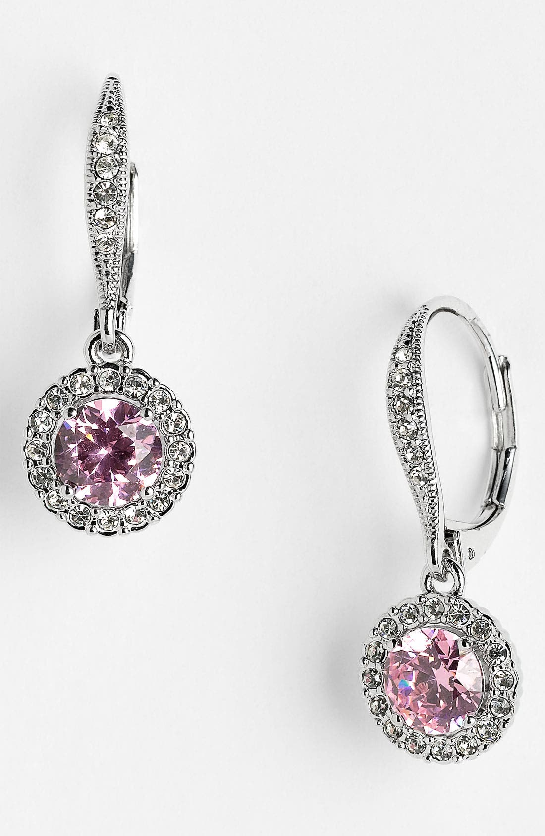 ,                             Cubic Zirconia Drop Earrings,                             Main thumbnail 24, color,                             680