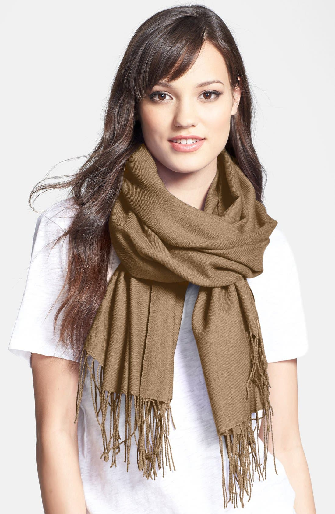 ,                             Tissue Weight Wool & Cashmere Wrap,                             Main thumbnail 29, color,                             236