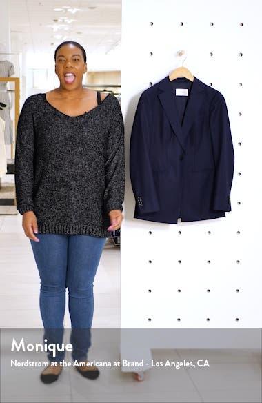 Cameron Square Hem Wool Jacket, sales video thumbnail