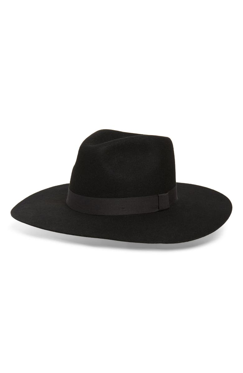 MADEWELL x Biltmore<sup>®</sup> Montana Wool Felt Hat, Main, color, BLACK