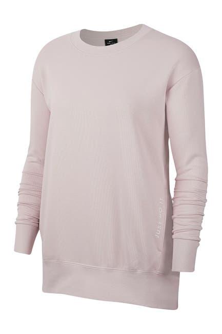 Image of Nike Dri-FIT Get Fit Fleece Training Crew Neck Sweater
