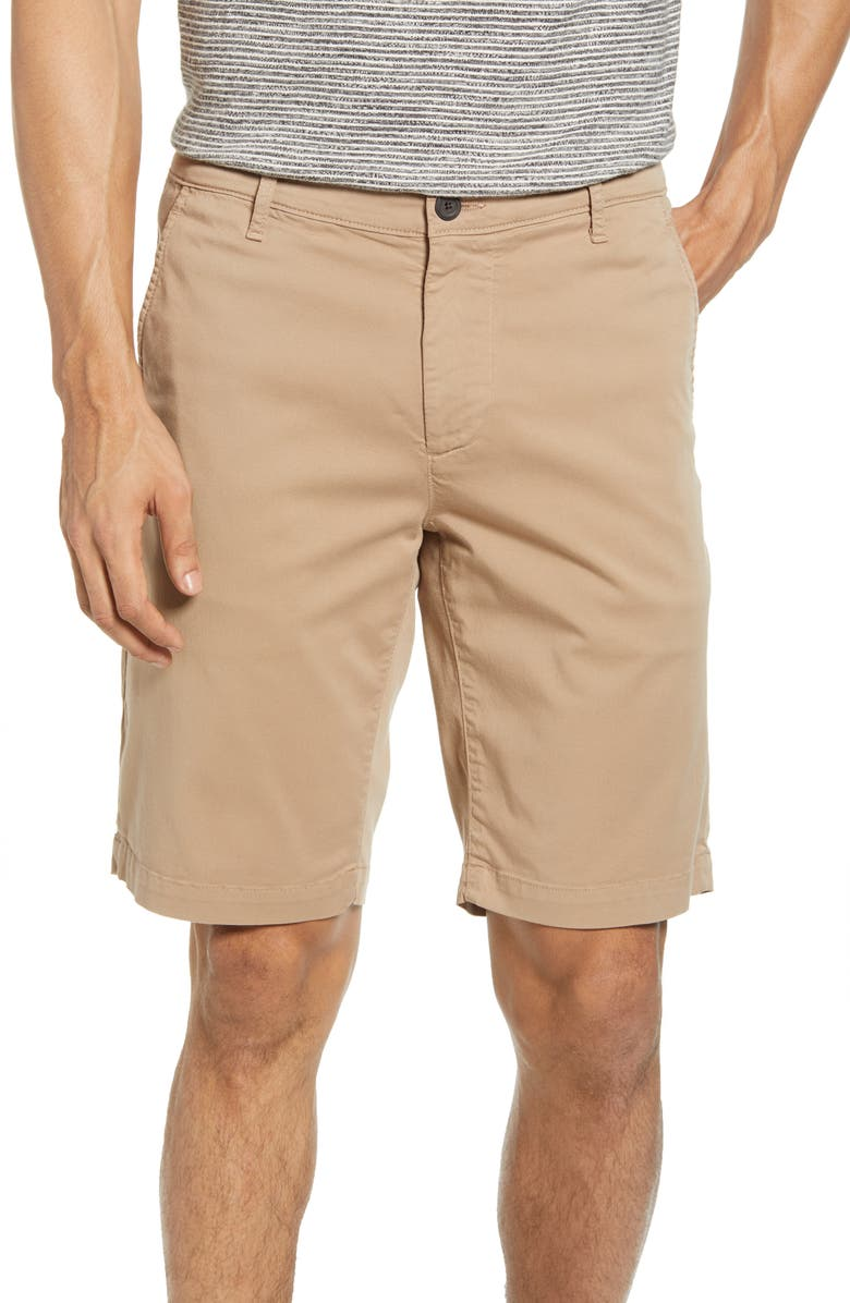 AG Griffin Regular Fit Shorts, Main, color, PARCHED TRAIL