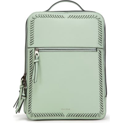 Calpak Kaya Faux Leather Laptop Backpack - Green