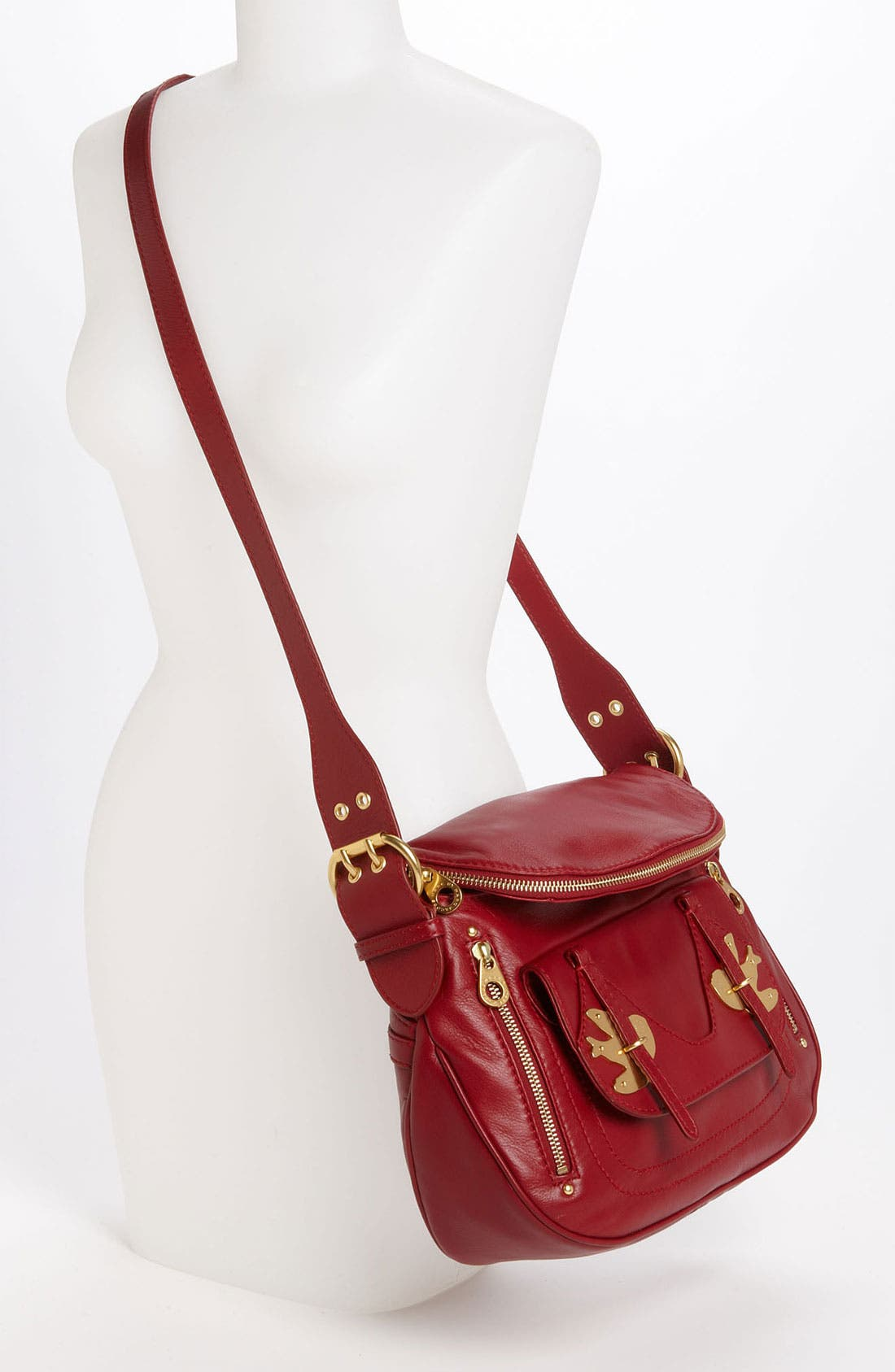 ,                             MARC BY MARC JACOBS 'Petal to the Metal - Natasha' Flap Crossbody Bag, Medium,                             Alternate thumbnail 38, color,                             608
