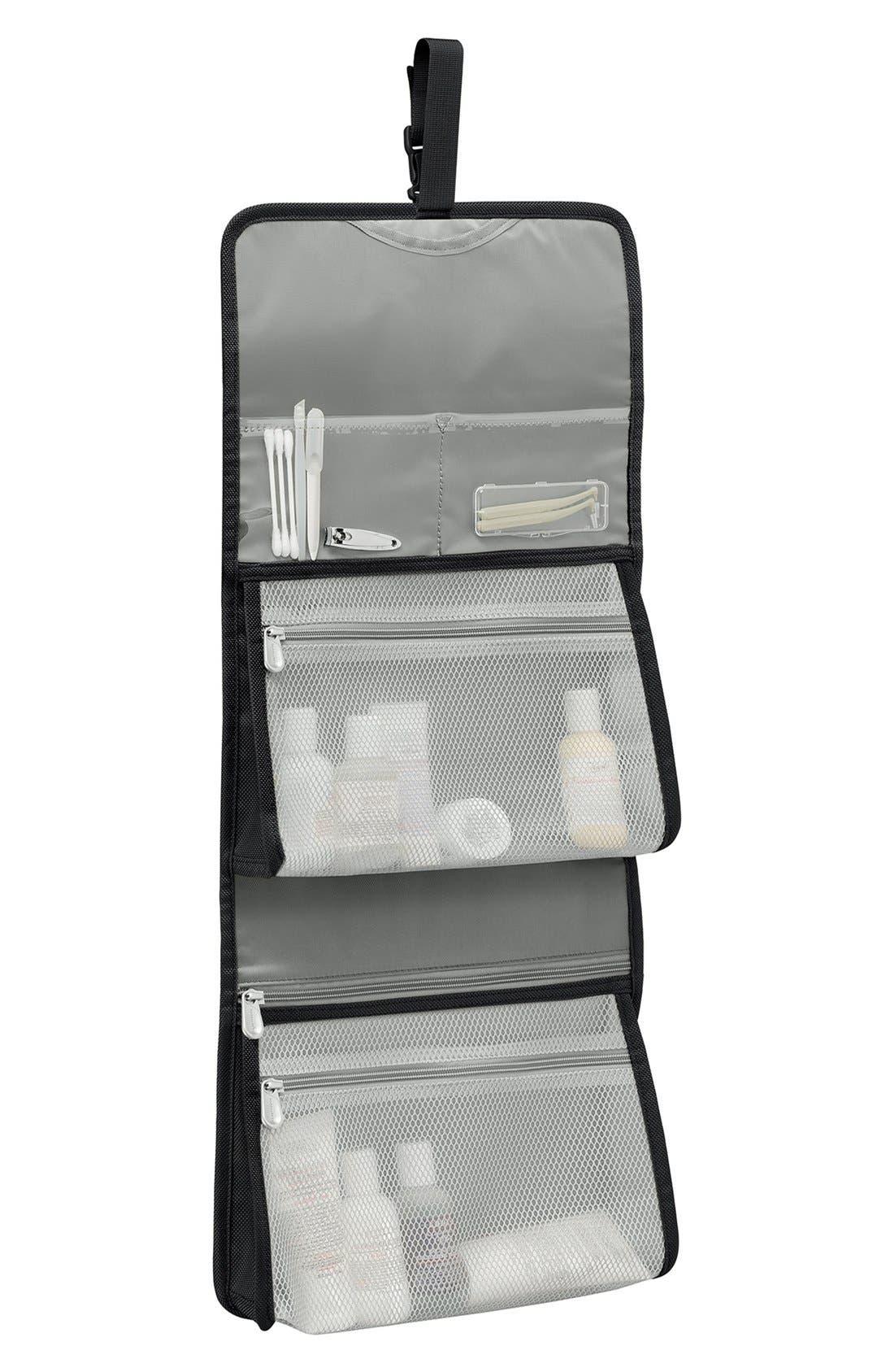 ,                             Baseline Deluxe Hanging Toiletry Kit,                             Alternate thumbnail 2, color,                             BLACK