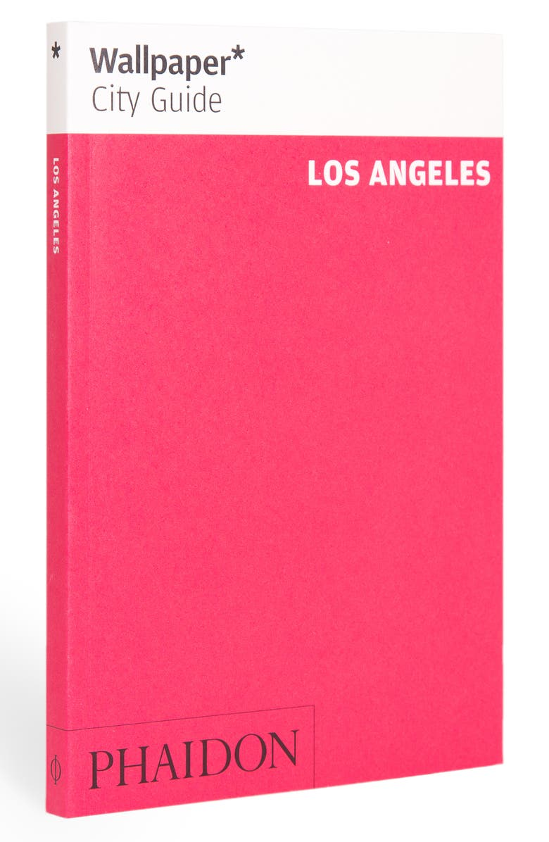 PHAIDON PRESS 'Wallpaper* City Guide Los Angeles' Pocket Size Travel Book, Main, color, PINK