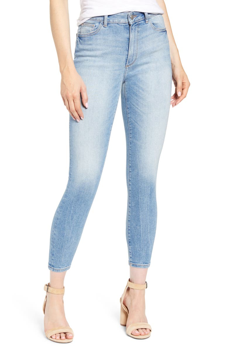 DL1961 Farrow High Waist Crop Skinny Jeans Sorrento